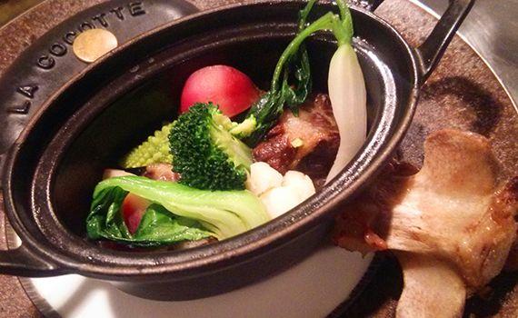 横浜の地野菜、鎌倉野菜をたくさん使ったお料理たち。