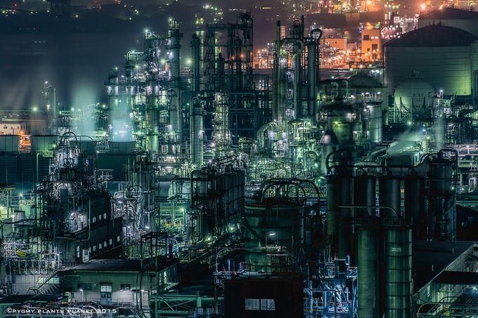 美しい工場夜景の写真が多く掲載されているだけでなく、その場所までのアクセス方法も簡単に書いてくださっています。景色の写真も多くあるので、綺麗な風景写真を見ているだけでも楽しいです♪