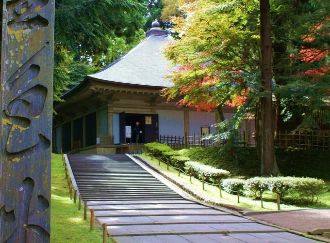 中尊寺のある平泉は、世界遺産にも登録されています。