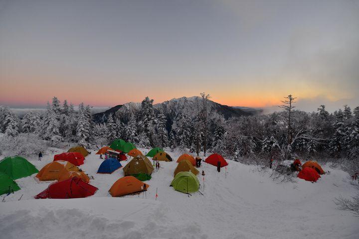 冬キャンプを満喫!朝霧ジャンボリーオートキャンプ場は冬キャンプにぴったり