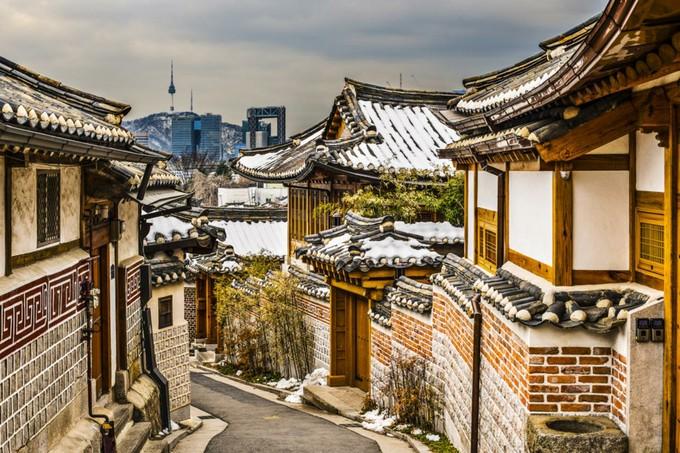 歴史的景観を持つ北村韓屋村