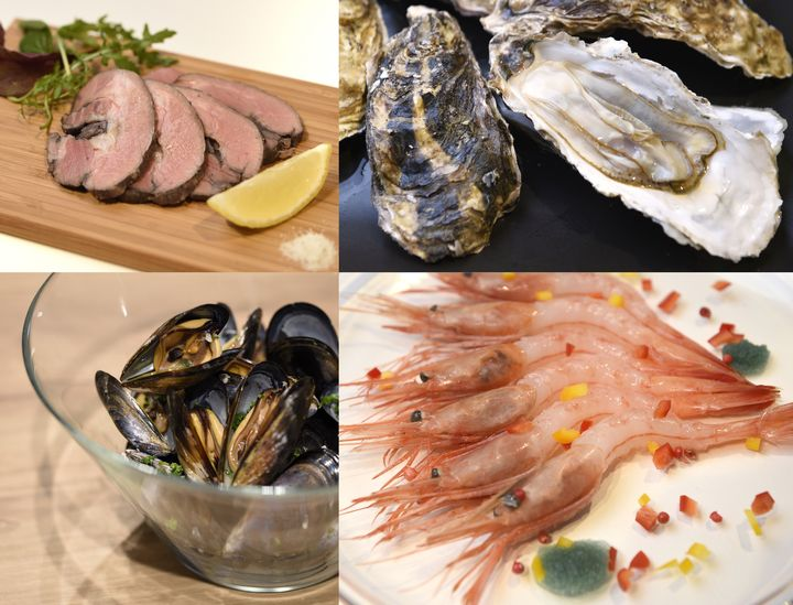47都道府県それぞれの特産品を使った様々なお料理を食べることができます。各地方のイベントごとに思考を凝らした料理の数々は必見です!