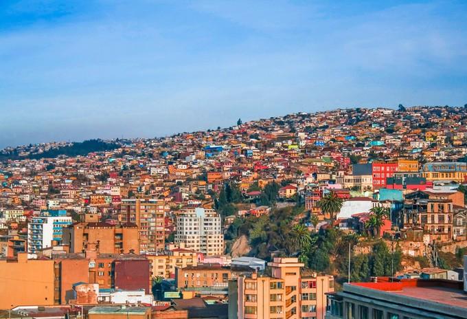 スラムでアートな世界遺産】<b>バルパライソ</b>の街並が可愛い!【チリ <b>...</b>