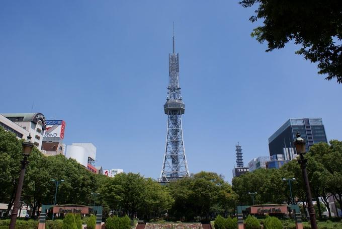 名古屋電視塔,慶祝60週年的開幕在2014年。