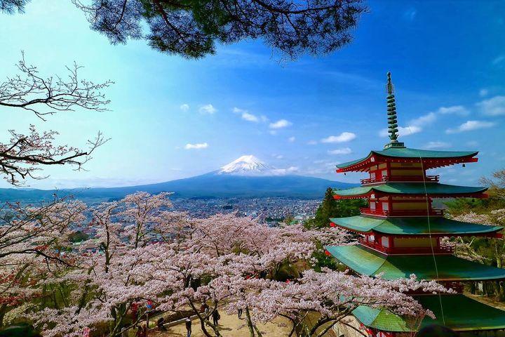 JAPANが誇る絶景!日本の良さが詰まった「新倉山浅間公園」が美しすぎる