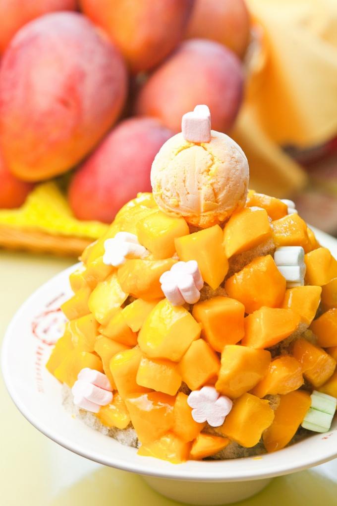 すごい盛り合わせのマンゴー一色