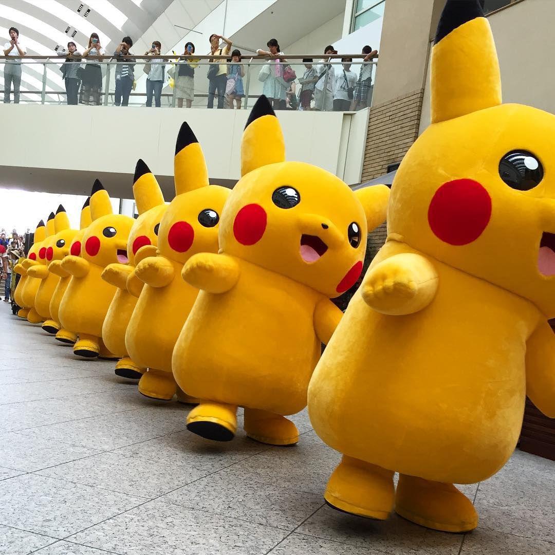 1000匹のピカチュウに会える!横浜で「ピカチュウ大量発生チュウ」が開催決定 1枚目の画像