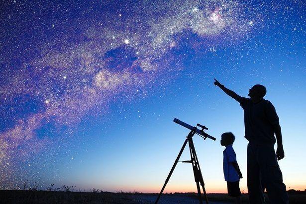 画像 : 【天体観測】星を見るた...