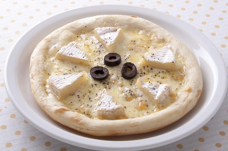 チーズ好きにはたまらないピザが美味しそう